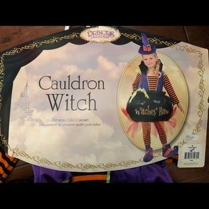 Cauldron Witch Costume Size Small
